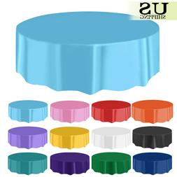 10/20 Pack Round Plastic Table Cover Cloth Table Covers Part