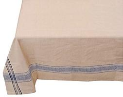 Yourtablecloth 100% Cotton Fabric Tablecloth – French Naut