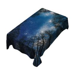 100% Polyester Kitchen Table Cloth Cover Dinner Restaurant H