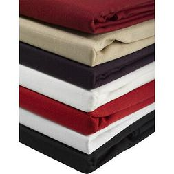 100% Polyester Plain Tablecloth or 4 Pack Napkins Home Dinin