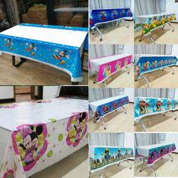 108cm*180cm Kids Birthday Party Tablecover Tablecloth Suppli
