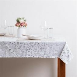 Francfranc 1300x1300 Keyshia Table Cloth Silver Linens Texti