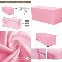 VEEYOO 4 Feet Table Cover - 48 x 30 Inch - Fitted Rectangle