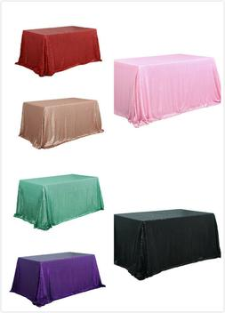 60 x102 shimmer sequin tablecloth sparkly table