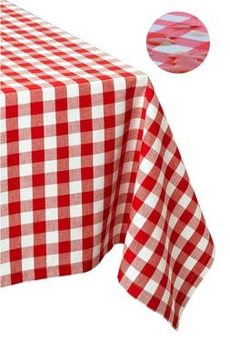 "Tektrum 60""X84"" Rectangle Tablecloth-Waterproof/Spill Proof"