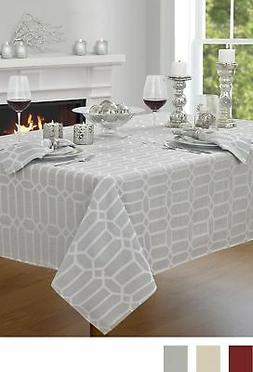 """Creative Dining Group Shimmer Fabric Tablecloth, 52 by 70"""","""