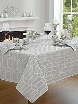 """Creative Dining Group Shimmer Fabric Tablecloth 60 by 120"""" S"""