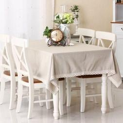 Ophelia & Co. Lehner Natural Simple Tablecloth