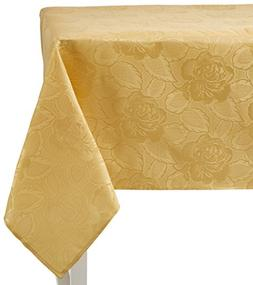 Regal Home Collections Laura Rose Damask Oblong  Tablecloth,