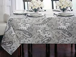 Waterford Linens, Classical Jacobean Floral Paisley Pattern