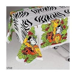 Zoo Animal Party Tablecloth
