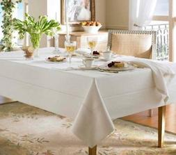"""Waterford Addison 70"""" x 104"""" Tablecloth ‑ French Blue"""