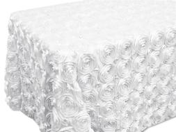 AK-Trading Tablecloth 54 x 120-Inch Rectangular Rose Grandio