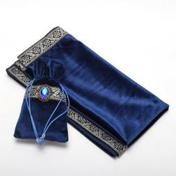 Altar Tarot Table Cloth/Bag Decor Divination Cards Wicca Squ