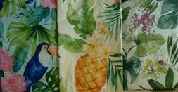 Assorted Sizes / Style Tropical Vinyl /Flannel Tablecloth Mu