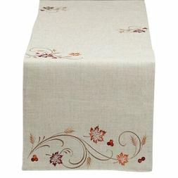 DII Autumn Wheat Table Runner
