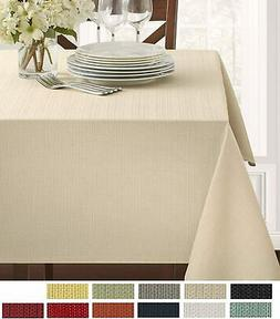 benson mills textured fabric tablecloth 60 x