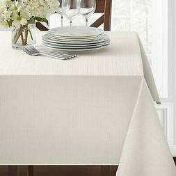 Benson Mills Textured Fabric Tablecloth