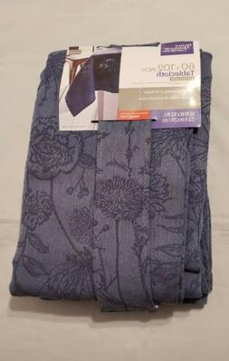 Better Homes & Gardens Table Cloth 60 X 102 Inch Blue Wild F