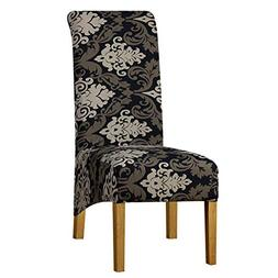 Big Size Chair Cover Elastic Chair Covers Stretch Seat Back
