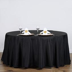 """Efavormart 120"""" Wholesale Round Tablecloth Polyester Round T"""