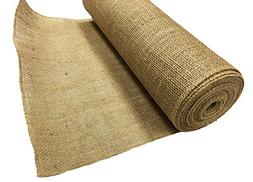 AK TRADING BUR14-10YDS Burlap Fabric Roll for Diy Crafts & H
