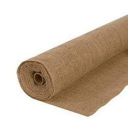 AK TRADING Burlap Jute Fabric, 40 inch wide x 100 feet Roll,