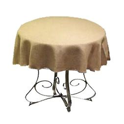 By Florida Tablecloth Burlap Round 58""