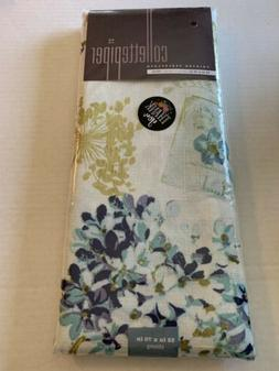butterfly hydrangea floral postcard cloth tablecloth 52
