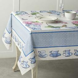 Maison d' Hermine Canton 100% Cotton Tablecloth 60 Inch by 1