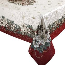 Benson Mills Christmas Noel Printed Tablecloth, size 60-inch