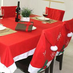 Christmas Table Cloth Red Rectangle Tablecloth Cover Home Pa