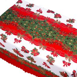 Christmas Tablecloth Polyester Cotton Dust-proof <font><b>Ta