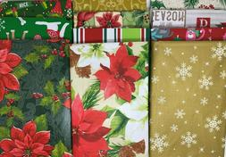 Christmas Collection  Flannel Backed Vinyl Tablecloths Round