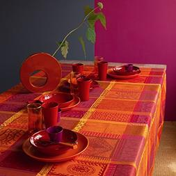 coated tablecloth mille wax ketchup