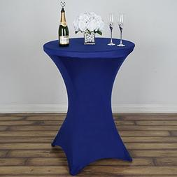BalsaCircle 36-Inch Royal Blue Cocktail Spandex Fitted Stret