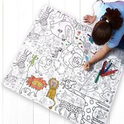 Colour In Tablecloths Posters Placemats by Eggnogg Christmas