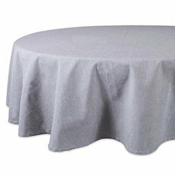 DII Cotton Chambray Pastel Tablecloth for Spring & Summer wi