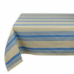 DII 100% Cotton, Machine Washable, Dinner and Holiday Tablec