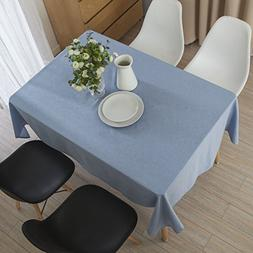 Lewing Cotton Square Table cloth Table Cover for Kitchen Din