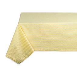DII Cotton Seersucker Striped Tablecloth for Weddings, Showe