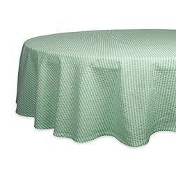 DII Cotton Seersucker Striped Tablecloth for Weddings, Picni