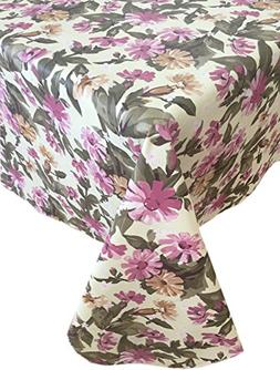 Home Bargains Plus Country Cottage Bouquet Flannel Backed He