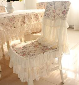 JH tablecloths Country style lace coffee grace floral design
