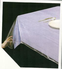 """DELUXE COLLECTION Clear Tablecloth Protector, 70"""" Round"""