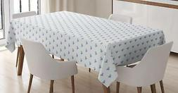 Diamonds Tablecloth Ambesonne 3 Sizes Table Cover Home Decor