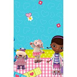 Doc McStuffins Rectangular Table Cover Birthday Party Tablew