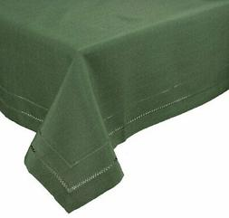 Xia Home Fashions Double Hemstitch Easy Care Tablecloth 60 b