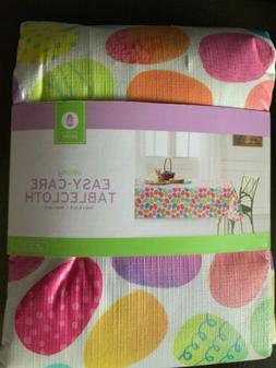 Easter Table Cloth Oblong 60X84 In