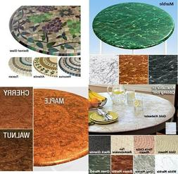 Elasticized Tablecloths Table Cover Marble Wood Stained Glas